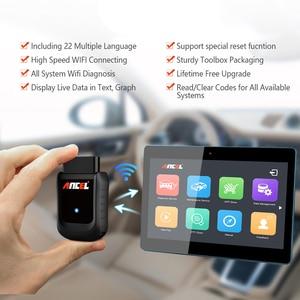 Image 5 - Ancel X5 Pro OBD2 Code Reader Full System Car Diagnostic Tool Support 22 Languages 72 Car Makers Free Update Online OBD  Scanner