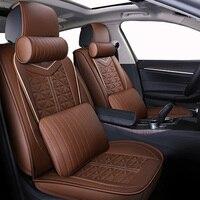 WLMWL универсальный кожаный чехол автокресла для Suzuki все модели grand vitara jimny swift SX4 Kizashi стайлинга автомобилей
