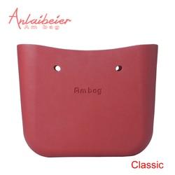 ANLAIBEIER Obag O Bag Style Classic Big Ambag Body Waterproof EVA Bag Women's Fashion Handbag Rubber Silicon Spare Parts
