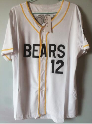6fd7b6e5313 ... jersey 12 tanner b dfdcf d4b50 where to buy aliexpress buy bonjean  custom number baseball jerseys bad news bears movie chicos bail ...