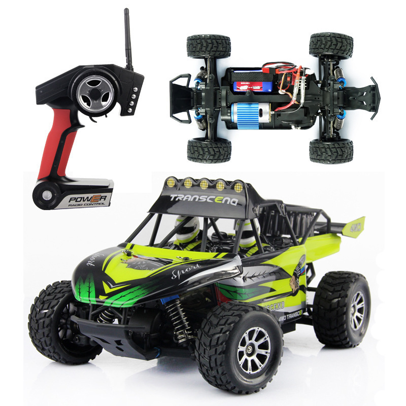 Wltoys K929 2.4G Remote Control Car 1/18 4WD Electrical Proportional Off-road RC Truck without original box VS L959 A959 A979 hsp rc car 1 10 electric power remote control car 94601pro 4wd off road short course truck rtr similar redcat himoto racing