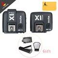 GODOX X1C Disparador de Flash TTL 1/8000 s Gatilho Strobe HSS 32 Canais 2.4G Sem Fio LCD Transmissor Receptor Liberação Do Obturador da câmera