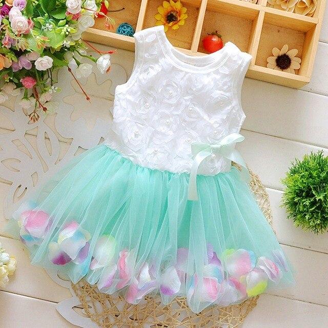 KAVKAS Baby Girls Summer Beach Style Dresses For Girls