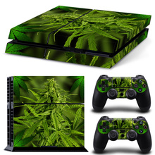 PS4 Weed Skin Sticker Cover