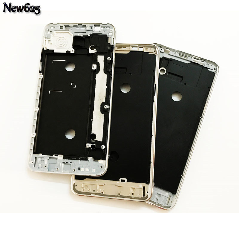 New Original Front Housing Faceplate For Samsung Galaxy J7 J710 2016 Front Plate Bezel Housing LCD Frame Cover