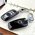 ABS Plástico cadeia Caso Chave Remoto Fob keyless fit para Bmw F30 1 2 3 4 5 6 7 Series X3 X4 116I 118I 320I 328I 530 Tampa Da Chave Do Carro