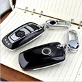 ABS Plastic Remote Key Case chain keyless Fob fit for Bmw F30 1 2 3 4 5 6 7 Series X3 X4 320I 116I 118I 328I 530 Car Key Cover