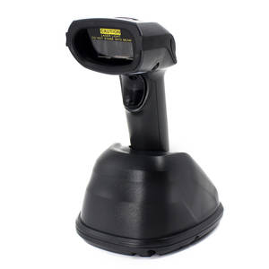 1D Wireless Barcode Scanner,Symcode 433MHZ Laser Barcode Reader Charge Station Wireless Transmitting Distance 300 - 400 Meters