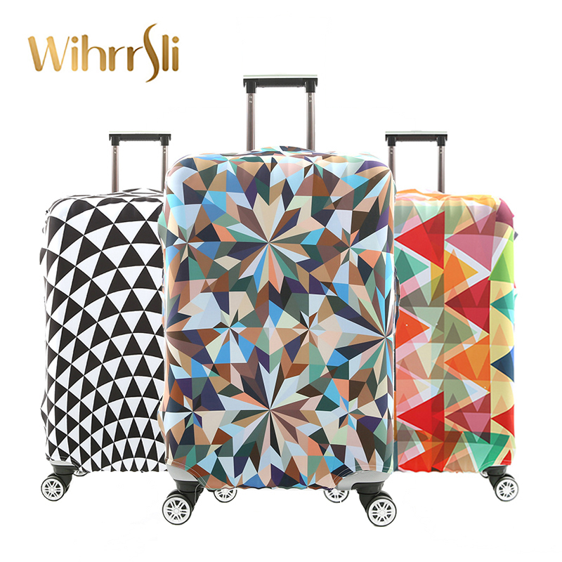 Travel accessories Luggage cover Suitcase protection baggage dust cover Stretch fabrics Trunk set case for travel suitcase tarot peeper i drone 750mm fpv quadcopter combo tl750s1