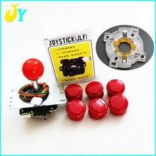 الأصلي Sanwa المقود JLF TP 8YT مع 6 OBSF 30 أزرار 1 GT Y Octogonal بوابة ل ممر جاما لعبة عدة MAME أجزاء
