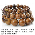 Authentic African wenge bracelet beads 12-20mm wenge sandalwood prayer beads bracelet wholesale men jewelry elastic line