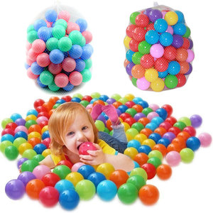 Image 3 - 100pcs/lot Ocean Ball Eco Friendly Colorful Ball Soft Plastic Funny Baby Kid Swim Pit Toy Water Pool Ocean Wave Ball Outdoor Fun