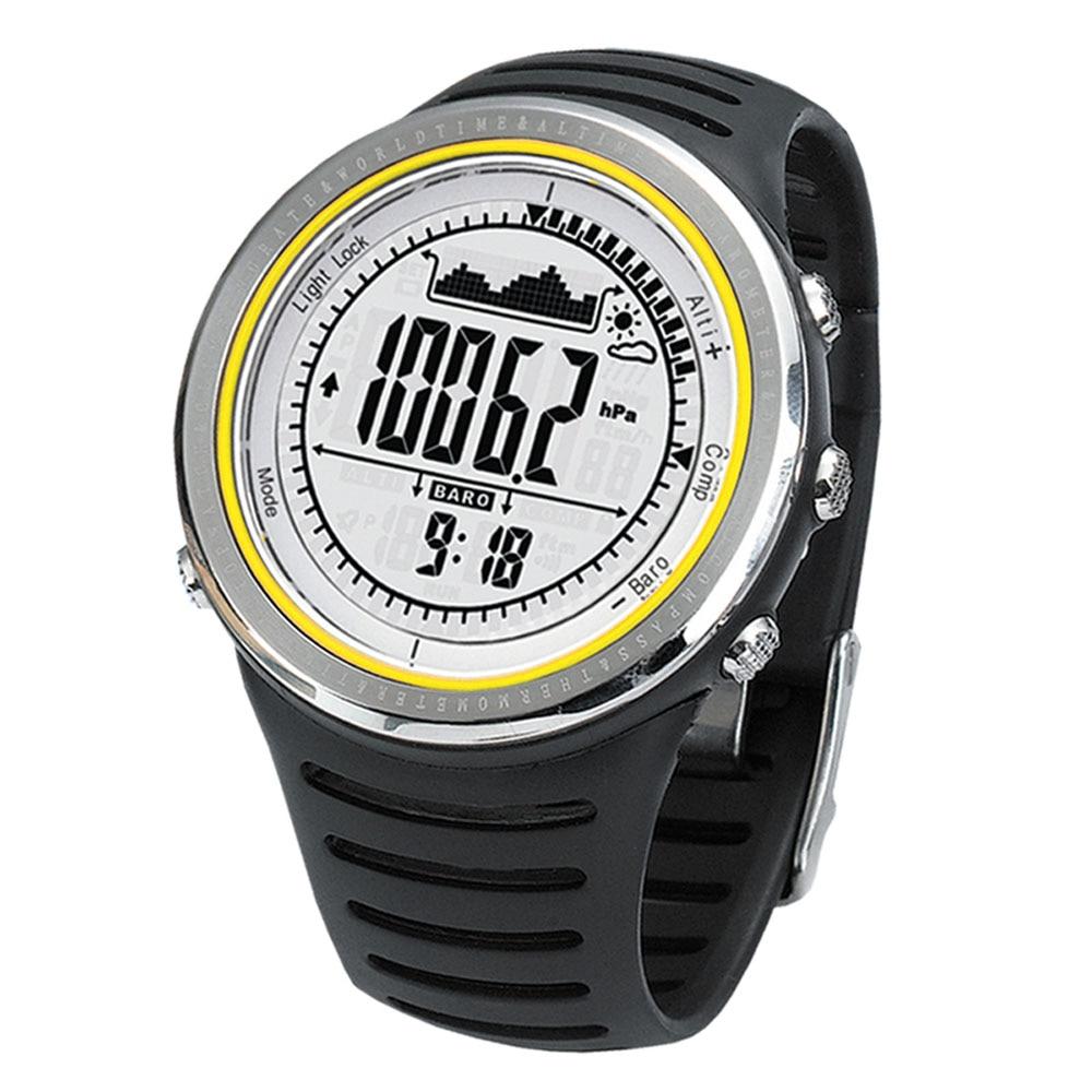 Sunroad sports de plein air montres hommes 5ATM étanche altimètre boussole chronomètre montre de pêche baromètre podomètre plongée montre hommes
