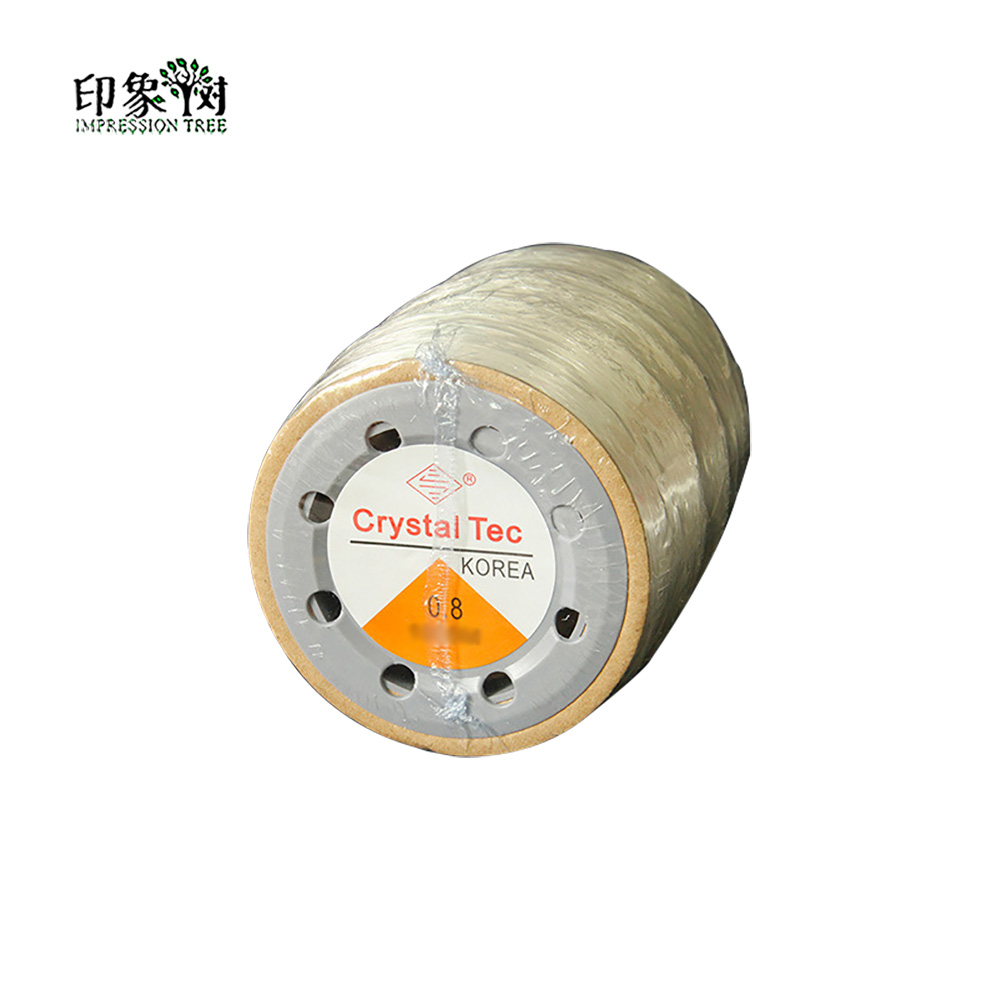 Dia 0 6 0 8 1 0 mm 750 m Roll Strong Crystal Elastic Beading Line