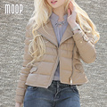 Зима женщины подлинная кожаное пальто из натуральной кожи короткая куртка бежевый 100% овчины куртка пальто манто femme hiver LT951