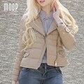 Mulheres inverno casaco de couro real de couro genuíno curto parka bege 100% casaco de pele de carneiro casacos manteau hiver femme LT951