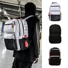 Canvas Both Shoulders Package Woman 2019 Outdoors Travel Computer anti theft Backpack men backpacks