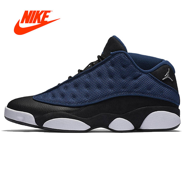 cheap for discount 88089 dc49f ... australia original new arrival official nike air jordan 13 gs navy men  for basketball shoes men