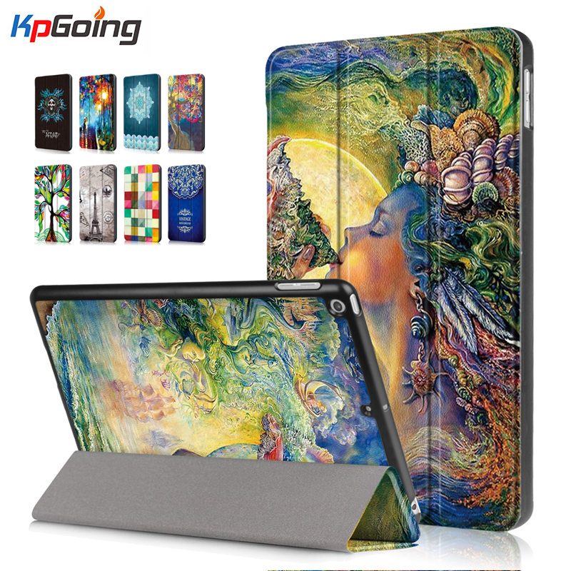For IPad 2018 Case A1893 A1954 Funda Slim Pu Leather Smart Cover for IPad 2018 6th Generation Case for IPad 9.7 2017 A1822 A1823
