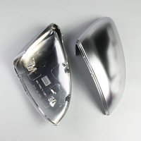 Matt Chrome rearview mirror shell Side Mirror Cover Mirror Case 2014 2018 Fit For VW Golf 7 mirror cover