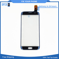 For Samsung Galaxy S7 Edge G935 G935F Touch Screen Digitizer Front Glass Sensor Pink Blue Gray