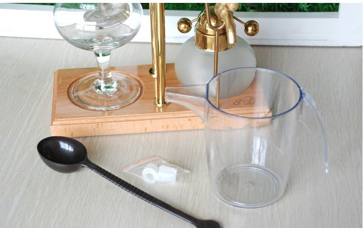 Королевский Бельгия кофеварка (Tech)/Сифон кофеварка 8D Бельгия кофеварка, вакуумные кофеварка