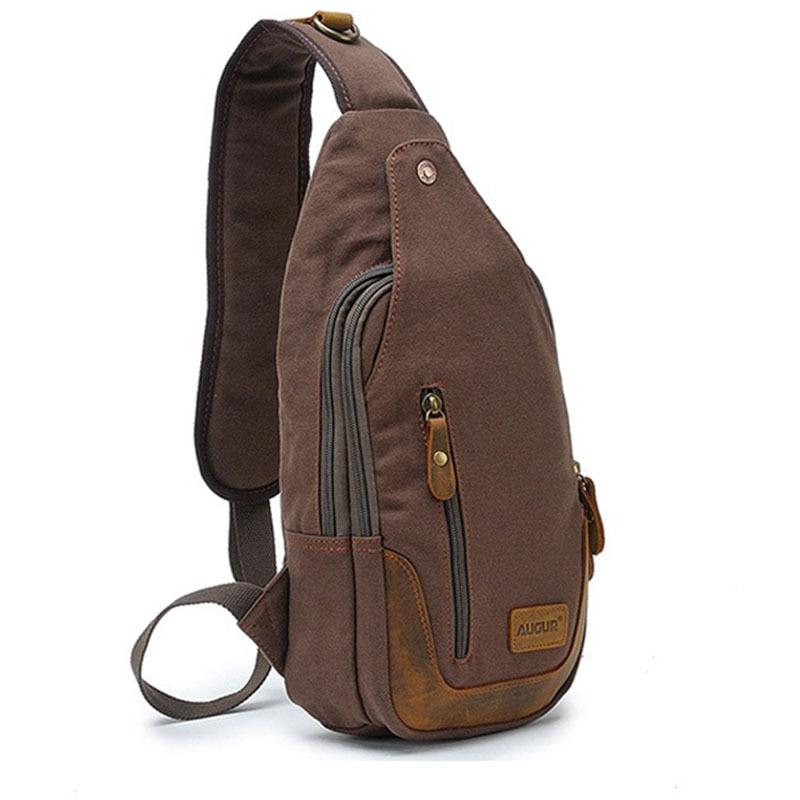 Casual One Strap Backpack Men Rugzakken