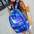 NUEVA Moda Japón Del Estilo Estrella Mochila Hombres Y Mujeres de Usos Múltiples Mochila Escolar Mochilas Bolsas de Viaje 5 Colores Fábrica puntos de venta
