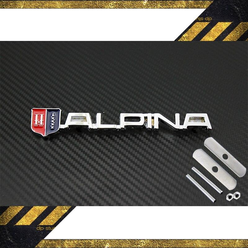 DHL 50 UNIDS Automóvil Accesorios Exterior piezas de Repuesto Grill Badge Con di