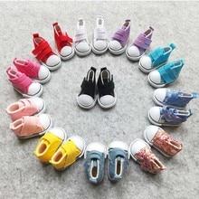 Hot Sale Doll Accessories Canvas Shoes 1/6 BJD 5CM