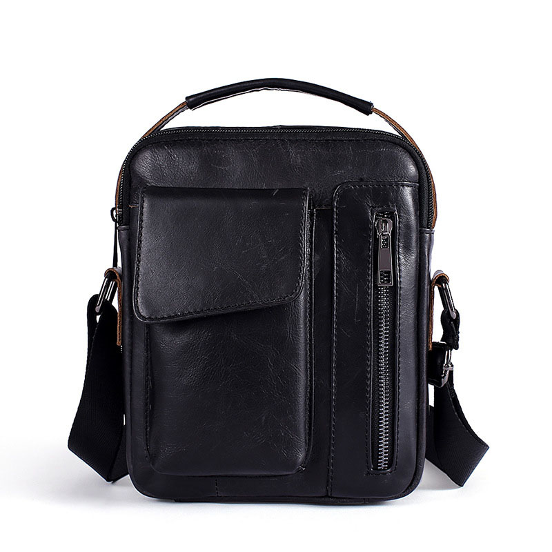 Mode Neue Echtem Rindsleder Männer Schulter Tasche Messenger Taschen Männlichen Reise Umhängetasche Handtaschen Männer Tasche Klappe Tasche weichen