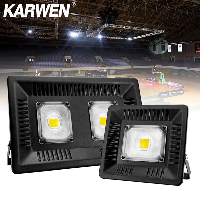 Waterproof IP65 Led Flood light Spotlight AC 220V 240V Floodlight 30W 50W 100W Outdoor Lighting Wall Lamp LED Flood Light