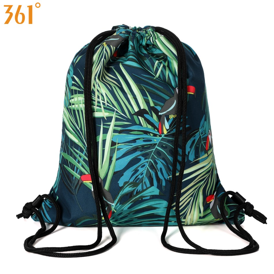 361 Waterproof Swimming Bag For Men Women Kids Tropical Drawstring Combo Dry Wet Swim Backpack Sport Bags Outdoor Pool Beach