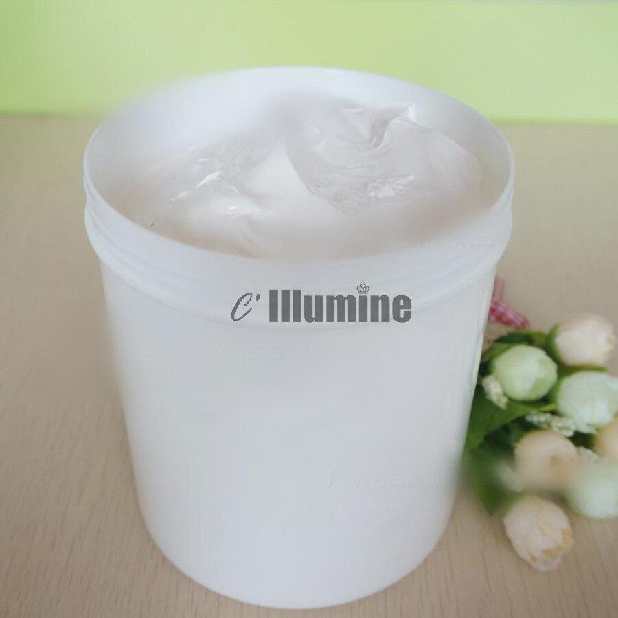 Crème solaire Base de maquillage apprêt blanchissant crème solaire ségrégation prévention longue durée rétrécissement Pores lisse peau Salon de beauté 1000g