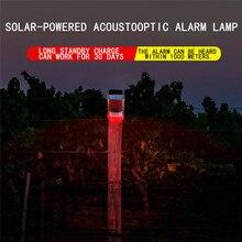 Solar Alarm Light Wireless IP65 Motion Sensor Outdoor Garden