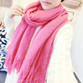High Quality Scarf Women Luxury 200*90cm Pashmina Shawls Solid Color Scraf Women Casual Femme Wool Scarf Q07