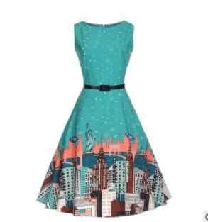 2019 Новое подиумное летнее жаккардовое платье на бретелях голубое платье женское Бисероплетение плод кокос дерево принт праздничное платье длиной до колена платья