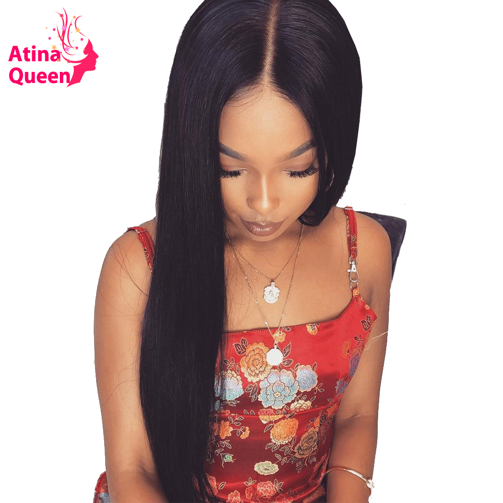 250 Density Lace Front Human Hair Wigs with Baby Hair Pre Plucked 13 6 Lace Front