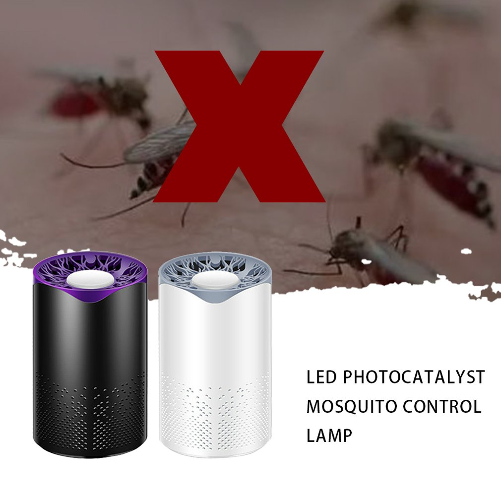 Mosquito Killer Trapper Lamp Usb Charging Flyer Insect Trapper Pest Control Rejector Light Mosquito Repellent Killer Repeller-in Traps from Home & Garden