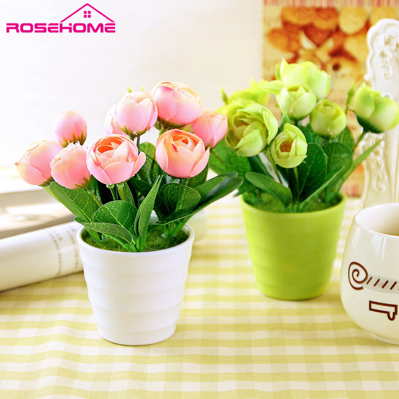 Aliexpress Buy Rosehome H18cmx15cm Home Decor Simulation Rhaliexpress: Artificial Flowers For Home Decor Indoor At Home Improvement Advice