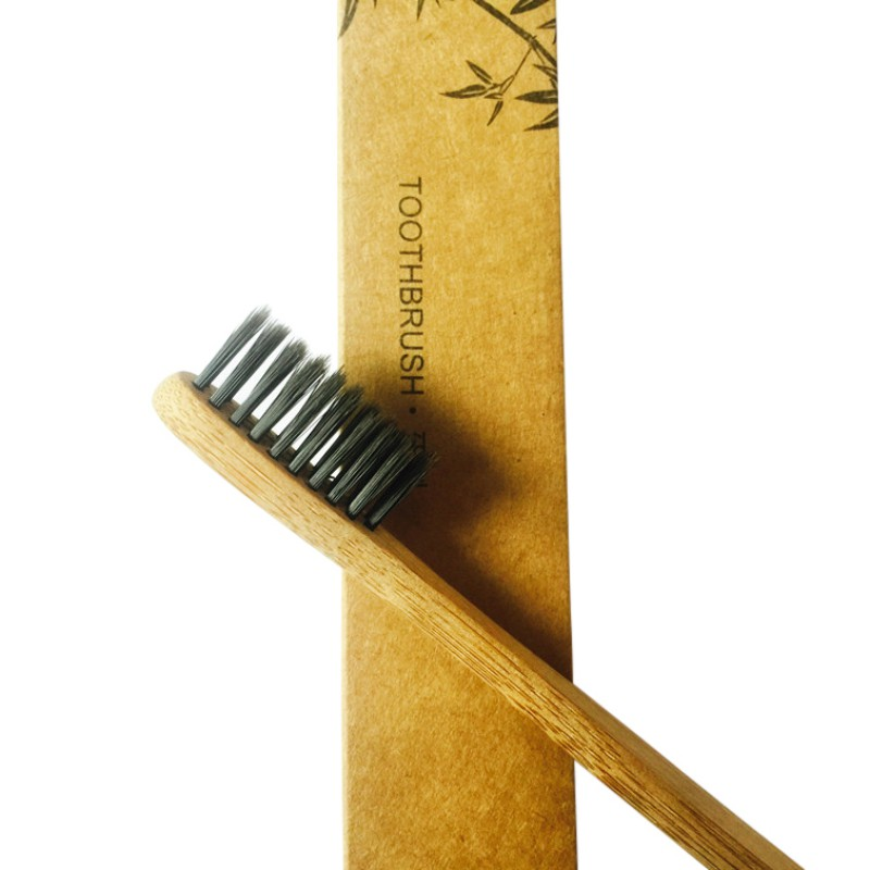 1pc Natural Bamboo Toothbrush Wood Makeup Eco-Friendly Antibacterial Wooden Toothbrush Oral Hygiene Maquiagem