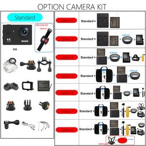 Image 5 - Original EKEN H9 H9R Ultra HD 4K 30fps Action Kamera 30m wasserdichte 2 zoll LCD Bildschirm Wi Fi remote Gehen Extreme pro Sport Kamera