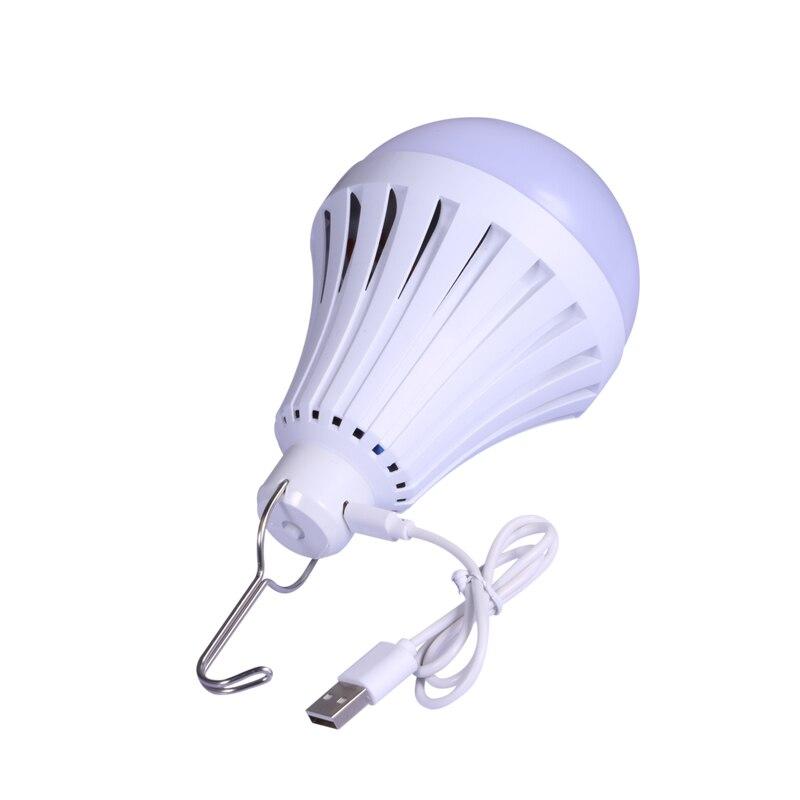 Lâmpadas Led e Tubos para iluminação exterior acampamento recarregável Temperatura de Cor : Branca Fria(5500-7000k)