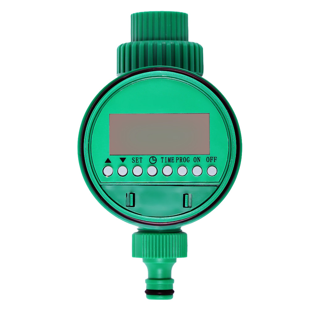 Garden-Water-Timer Solenoid-Valve Lcd-Display Intelligence-Watering-System Garden-Irrigation-Controller