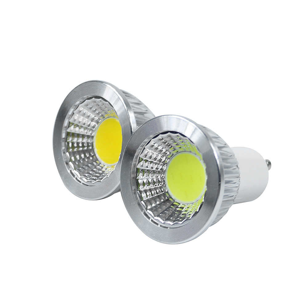 Led Spot Gu10 Us 6 8 Gu10 Led Cob Bulbs 3w 5w 7w 10w Led Spotlight Ac85 265v Ceiling Downlight White Warm White Aluminum 2pcs Lot In Led Spotlights From Lights