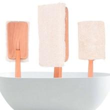 Bathroom Bath Brush Back Exfoliating Long Handle Loofah With