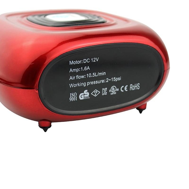 OPHIR kaasaskantav kahetoimeline õhuharjakomplekt koos mini - Elektrilised tööriistad - Foto 4