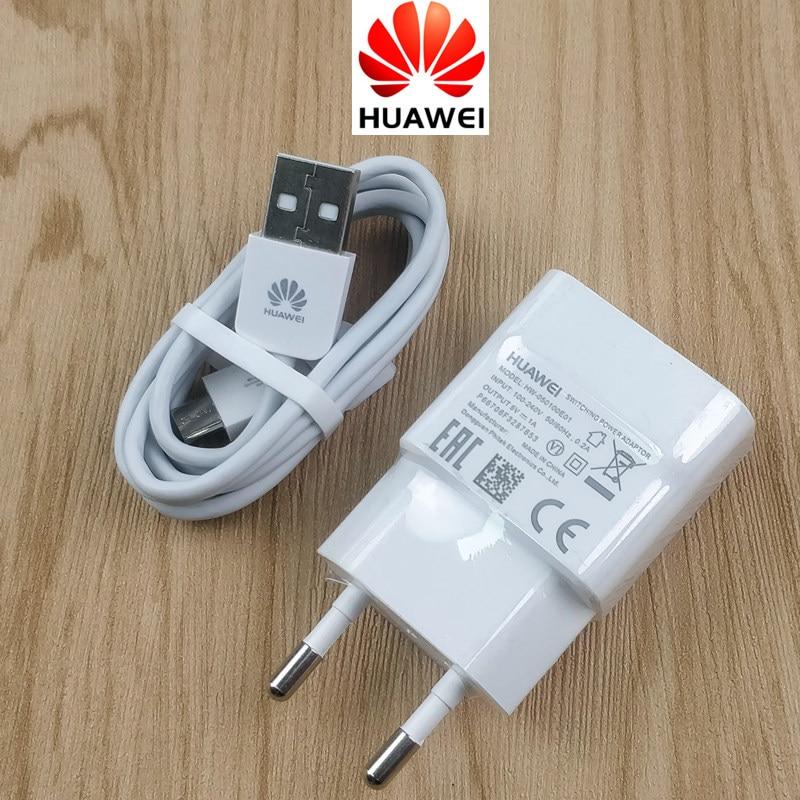 Huawei Honor 7X Charger Original EU 5v/1a Usb Wall Power Adapter charge cable for 6X 6C 6a 5c 6 5X 3C 3X 4A 4C 4X G7 P7 P6 phone