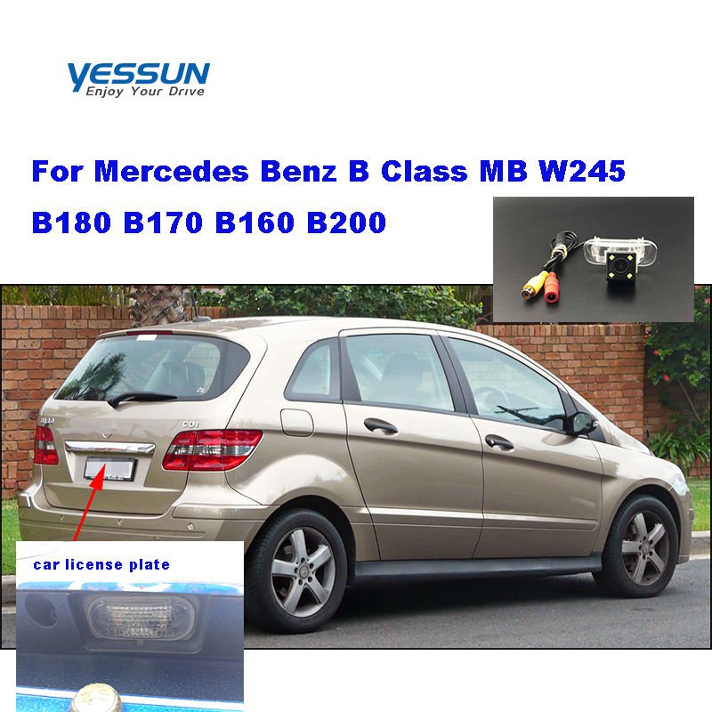 Yessun HD CCD Night Vision Car Rear View Reverse Backup Camera Waterproof For <font><b>Mercedes</b></font> Benz B Class MB <font><b>W245</b></font> B180 <font><b>B170</b></font> B160 B200 image