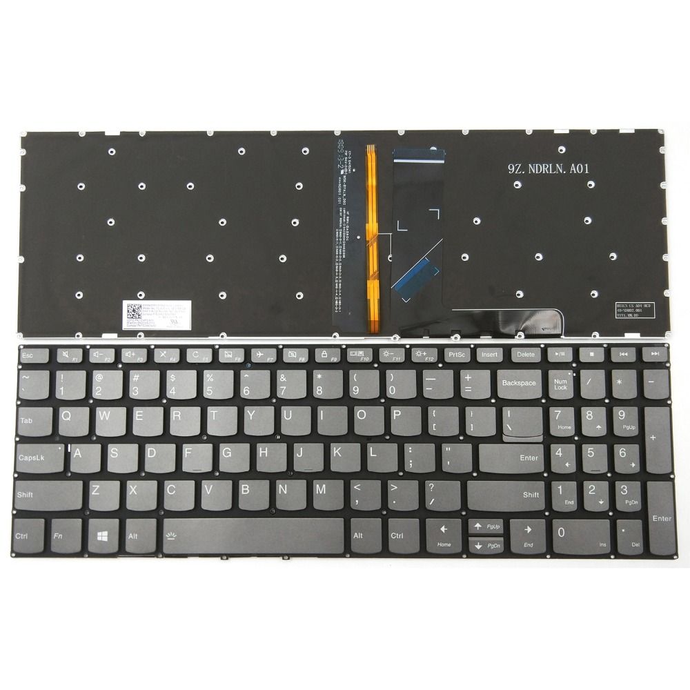 Keyboard for Lenovo Ideapad 330S 330S-15IKB 330S-15ARR 330S-15AST US Backlit